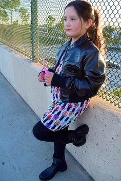 #nailpolish #dress #kids #childrens #designer #outfit #sewing #girls