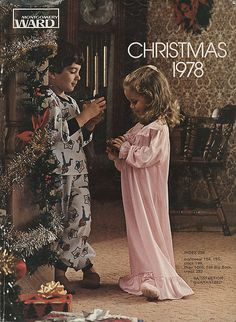 1978 Montgomery Ward Christmas Catalog. Also, Sears catalog! I worked there for 8 years!!! A mad-house at Christmas!!!
