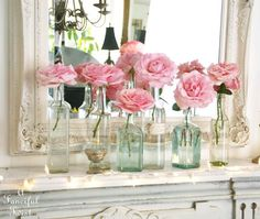 Giant candy pink frosting roses