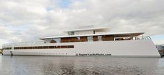 Steve Jobs' $250 million superyacht, Venus, finally sets sail