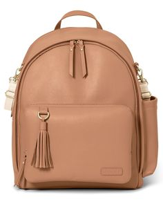 de94d41995f Greenwich Simply Chic Backpack   Skiphop.com Offering laidback luxury for  the effortlessly chic mama