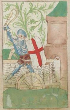 Kriegstechnik (Bilderhandschrift) Oberrhein · um 1420-1440 Ms. Rh. hist. 33b  Folio 78v