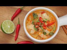 Soupe thaï aux crevettes qui se prépare rapidement - Recettes - Ma Fourchette