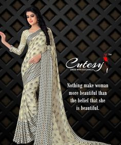 Trendy Sarees, Latest Sarees, She Was Beautiful, Indian Sarees, Ethnic, How To Memorize Things, How To Make, How To Wear, Women's Fashion