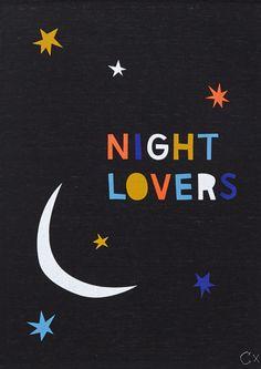 NIGHT LOVERS TEATOWEL