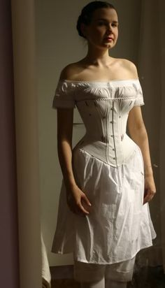 Underpinnings suitable for 1870s. Source link is wonderfully full of photos.
