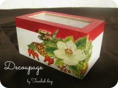 Decoupage+Boxes   tousled day: Dekupaž kutija / Decoupaged box
