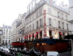 Paris: Bofinger Brasserie in the 4th Arrondissement. Classic French--our favorite place of the trip! We ate here 3 times. (CW10-1)