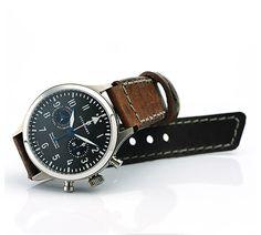 // STEINHART Nav.B-Chrono 47 Titanium Steinhart Watches mens luxury watch. steinhart #divers #marine #aviation pilots chronographs @calibrelondon