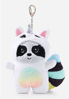 Justice is your one-stop-shop for on-trend styles in tween girls clothing & accessories. Shop our Raccoon Under Cover Plush Keychain. Girl With Purple Hair, Frozen Crafts, Minnie Mouse Toys, Freebies By Mail, Christmas Beanie, Justice Accessories, Cute Keychain, Keychains, Best Friend Outfits