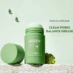 Green Tea Cleanse, Green Tea Ingredients, Green Tea Oil, Cleansing Mask, Clean Pores, Green Tea Extract, Skin Care, Acne Facial, Sun Burn
