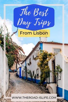 Explore the beauty and wonders that lie around the Lisbon area. If you're planning a visit to Lisbon, make sure to add these 3 epic day trips to your list of things to do! Trust me, you won't want to miss them. #lisbon #portugaltravel #highlightsofportugal #lisbondaytrips #cascais #sintra #obidos