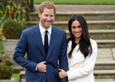 Prince Harry and Meghan Markle Are Reportedly Going to Be Next-Door Neighbors with Prince William and Kate Middleton Engagement Suits, Royal Engagement, Engagement Couple, Engagement Photos, Engagement Rings, Meghan Markle Engagement, Meghan Markle Wedding, Meghan Markle Suits, Meghan Markle Style
