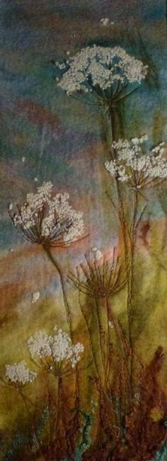 Dancing Meadow  -  Threlfall's Art Studio | Felt Painting