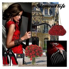 """""""GLAMOUR LIFE"""" by kidsfashion001 on Polyvore featuring moda"""
