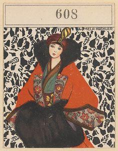 Fashion (Mode) Mela Koehler (Austrian, Vienna 1885–1960 Stockholm) Published by Wiener Werkstätte ca. 1907/8–14