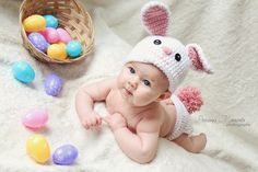 Easter baby photoshoot