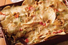 Try this delicious Pepper Jack Nacho Bake once, and you might find yourself making chicken dinners just to get the leftovers for this recipe!
