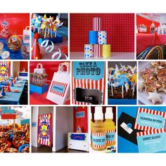 carnival themed first birthday party ideas