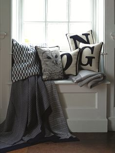 Soft furnishings to add character.