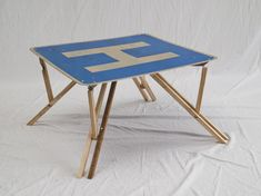 Will Holman - Road sign fold down table
