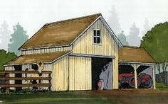 Barns..many designs, plans