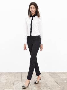 Banana Republic Sloan-Fit Ankle Pant Pants I wear to work.
