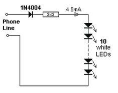 the simple circuit design of a non