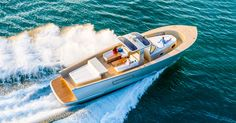 The Alen 55 Is A 1,600 HP Island-Hopping Party Yacht - Supercompressor.com
