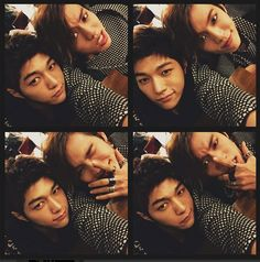 INFINITE's L wishes Dongwoo a happy birthday by posting a super cute 4-shot selca of them two!