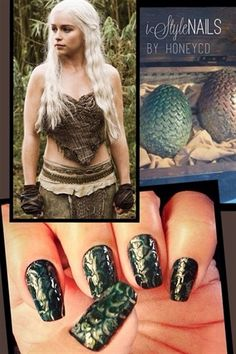 Daenerys Dragon Eggs by iStyleNails from Nail Art Gallery