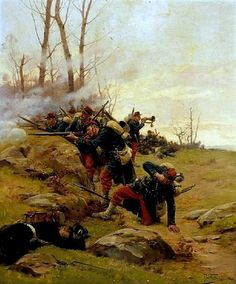 Grolleron, Paul Louis Narcisse (b,1848)- French Marine, Battle of Forbach (Franco-Prussian)