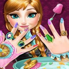 Anna Frozen Tırnak SPA yapalım kızlar..