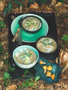 Tahle polévka s přehledem obstojí i na svátečním stole. Houbovo-šalvějové nočky jsou přímo geniální!