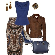 """nice fall attire for work"" by bsimon623 on Polyvore"