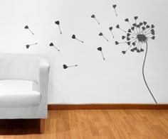 Our premium wall stickers are perfect for your home or business. Vinyl Wall Stickers, Dandelion, Website, Wall Art, Amazing, Diy, House, Ideas, Home Decor