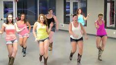 "Line Dance - Miranda Lambert & Carrie Underwood's duet ""Somethin' Bad"" with the Boot Boogie Babes"