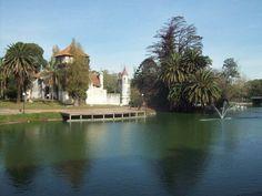 Castillo en el lago del Parque Rodó - Montevideo - Uruguay