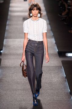 Look at the top ten runway looks from Spring 2015 Fashion Month including, Louis Vuitton and more here: