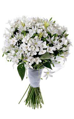 Shopping novias vestido corto y con cola sirena: ramo de flores de Verdepimienta