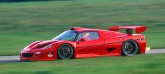 Ferrari F-50 In-Action