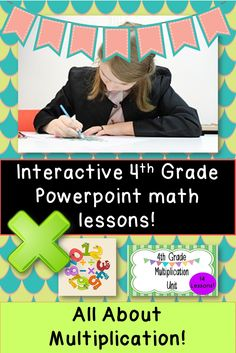 14 lessons about multiplication.  Engaging, easy, and fun!  Fully Common Core aligned!