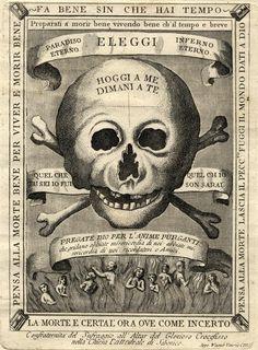 Joseph Wagner, Memento mori della Confraternita del Suffragio per le anime purganti all'altare del Glorioso Crocefisso nella Chiesa Cattedrale di Sebenico.