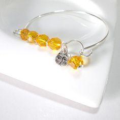 Bracelete de pingentes   prata