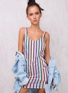 1bc906c159 Motel Candy Stripe Mergy Dress. Shopaholic Queen ♛ · Princess Polly