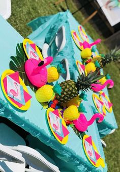 Zaria's 1st Birthday Luau | CatchMyParty.com