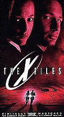 The X-Files (VHS,) David Duchovny, Gillian Anderson