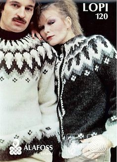 Pattern - LOPI 120 - Icelandic Knitted Sweater in Lopi