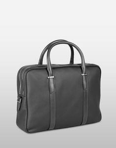 718a985de4 Zegna Double briefcase with double zip closure