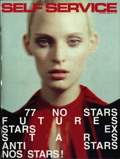 Self Service N4 by Mark Borthwick, Styling: Jane How, Model: Amy Wesson, source: selfservicemagazine via thefashionspot